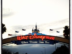 Walt Disney Entrance