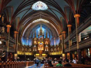 Inside Montreal's Notre Dame