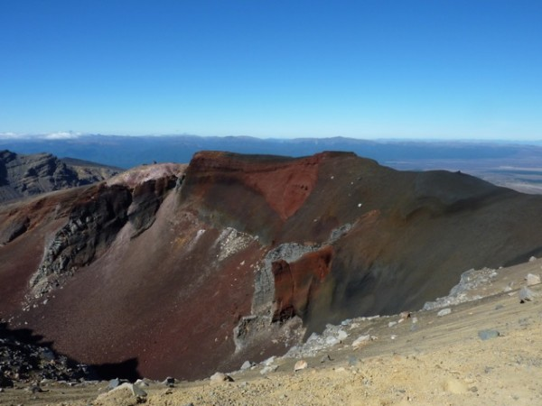 Tongariro Crossing Crater