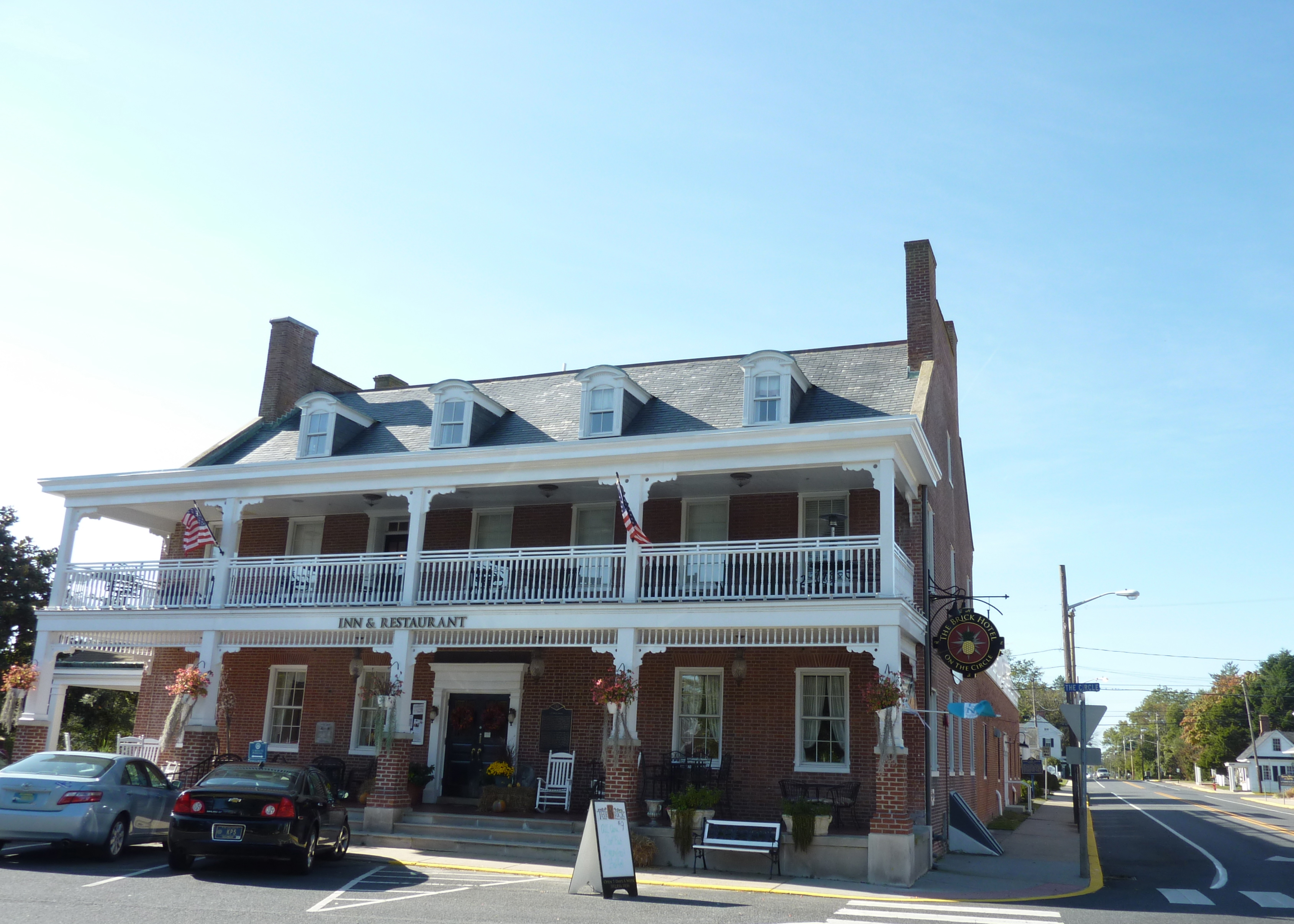 Brick Hotel Georgetown De Review The On Circle