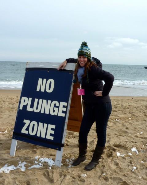 No Plunge Zone!