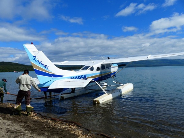 Brooks Falls- Seaplane