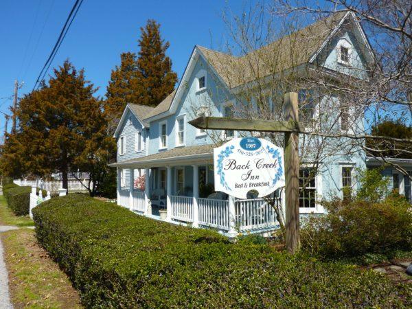 Back Creek Inn- exterior small