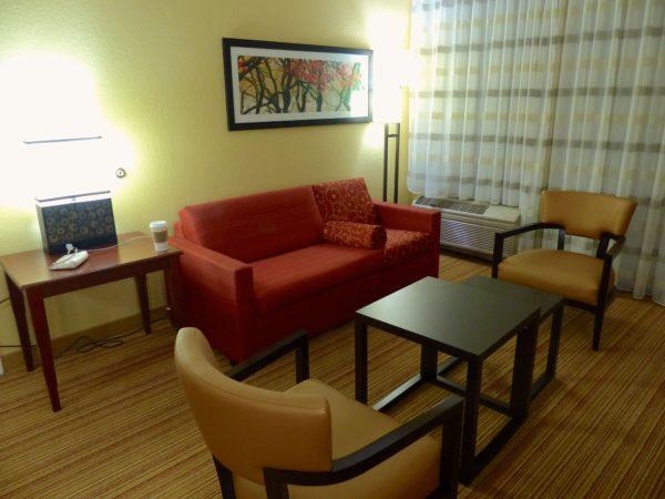 Courtyard Marriott- suite