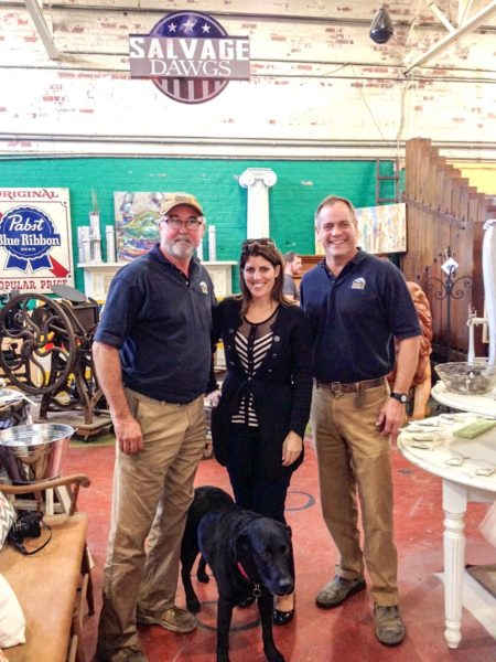 Black Dog Salvage- me and the guys