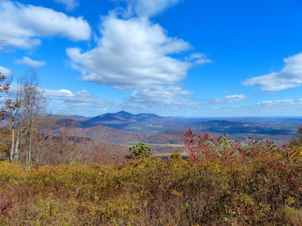 Blue Ridge Parkway- overlook 3