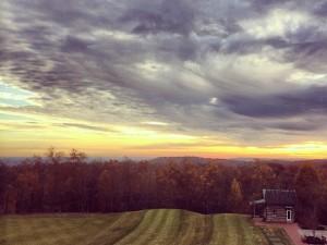 primland sunset