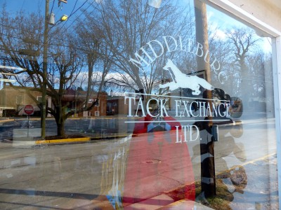 Middleburg Tack Exchange- window
