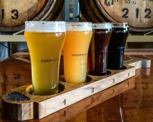 Hardywood- tasting