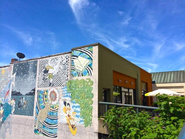 Downtown Asheville- street art