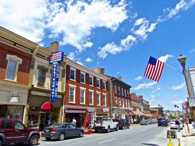 Lexington - downtown street