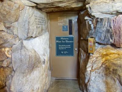 Grove Park Inn- secret elevator