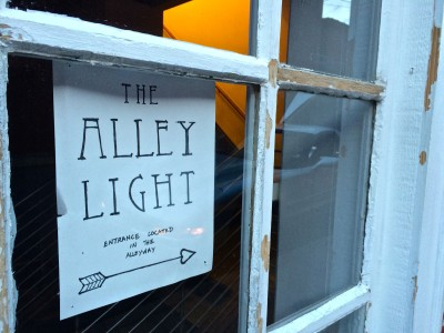 The Alley Light- sign