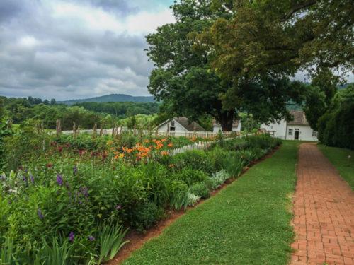 Charlottesville- Ash Lawn-Highland- garden