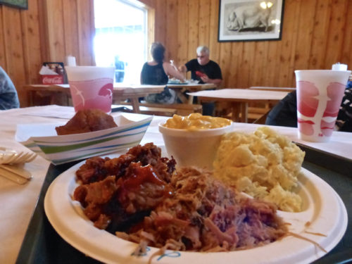 Charlottesville- BBQ Exchange- my meal