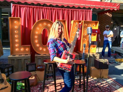 Bristol- jamming out with VA Tourism