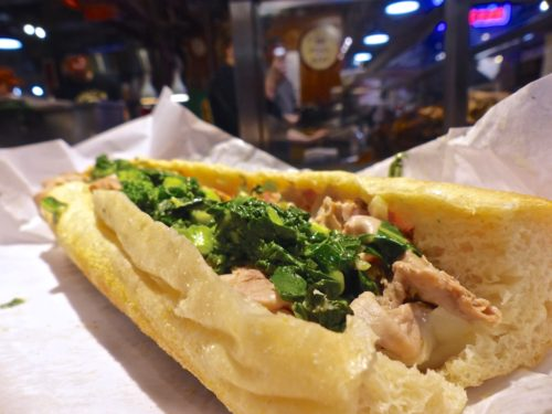 Philadelphia- Best Things to Eat at Reading Terminal Market- DiNics roast pork sandwich