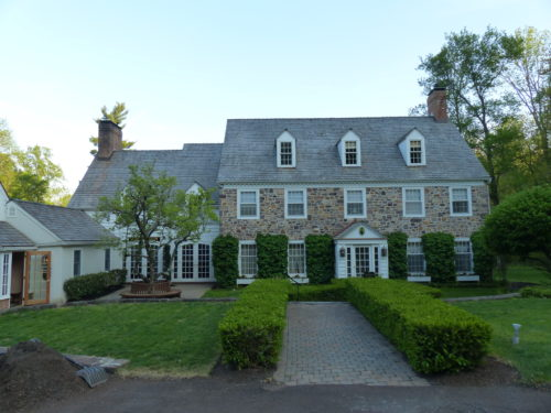 Bucks County- Inn at Bowman Hill- Front entrance