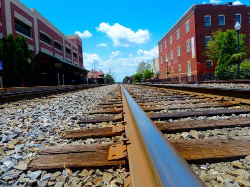 DC Day Trip to Manassas- Train Tracks 2