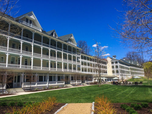 Omni Bedford Springs Review- exterior