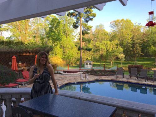 Bucks County- Inn at Bowman Hill- champagne