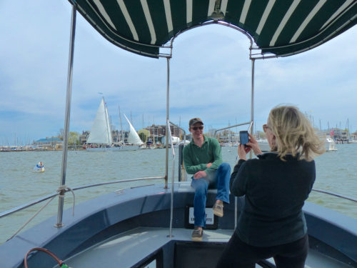 A ride on the Water Taxi provides the quintessential Annapolis photo op