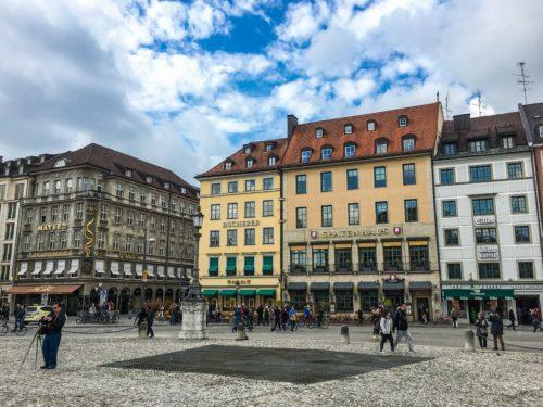 Munich- Max Joseph Platz