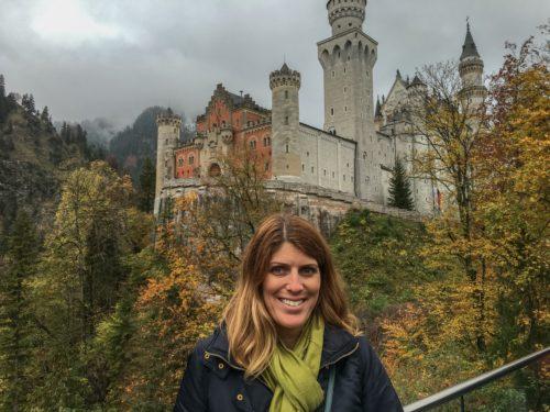 Neuschwanstein Castle- and me!