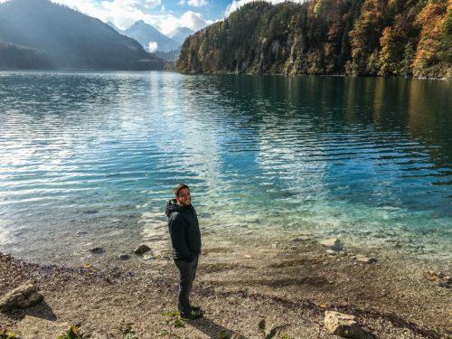 Neuschwanstein Castle- lake