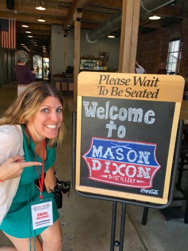 gettysburg-getaway-mason-dixon-distillery-sign-and-me